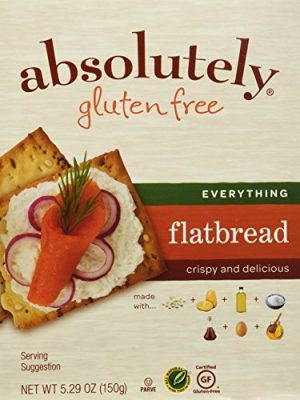 Absolutely Gluten Free Everything Flatbread, 5.29-Ounce (3-Pack) by Absolutely Gluten Free