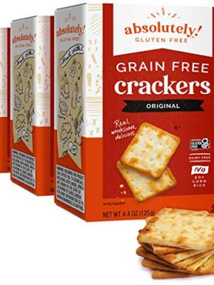 Absolutely Gluten Free Original Crackers, 4.4 Ounce (Pack of 3)
