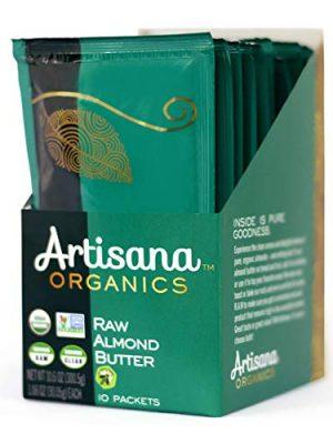 Artisana Organics Raw Almond Butter Snack Packs (10 Pack)   No Sugar Added, No Palm Oil, Vegan, Paleo, and Keto Friendly…