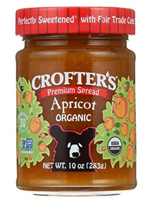Crofters, Fruit Spread Apricot Organic, 10 Ounce