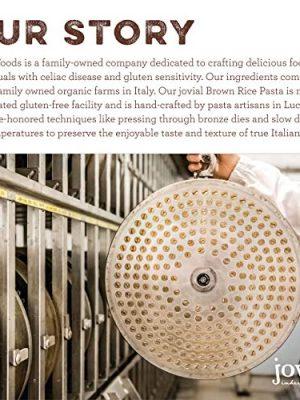 Jovial Egg Tagliatelle Gluten-Free Pasta   Whole Grain Brown Rice Egg Tagliatelle Pasta   Lower Carb   Kosher   USDA…