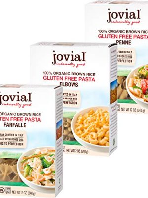 Jovial Farfalle Pasta   Jovial Elbows Pasta   Jovial Penne Rigate Pasta   Whole Grain Brown Rice Pasta   Gluten-Free…