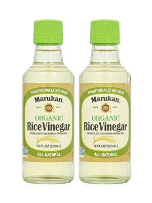 Marukan Organic Rice Vinegar (2 Pack, Total of 24fl.oz)