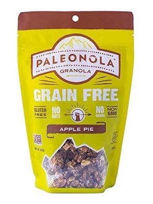 Paleonola – Grain Free Granola Apple Pie Flavor – Non-GMO, Grain, Soy, Gluten, Dairy Free – Low Carb Protein Snack For A…