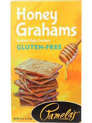 Pamela's Products – Graham Crackers Honey – 7.5 Ounce (Pack of 2)
