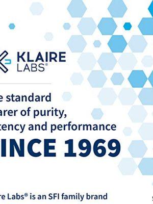 Klaire Labs Saccharomyces Boulardii – Probiotic Supplement to Help Support Healthy Yeast Balance, Immune & Digestive Health – Acid Resistant, Shelf-Stable, Hypoallergenic & Dairy-Free (60 Capsules)